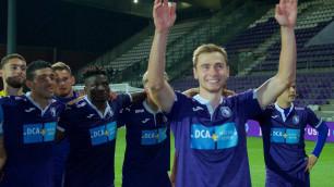 Бельгийский клуб казахстанца Вороговского прервал пятиматчевую серию без побед