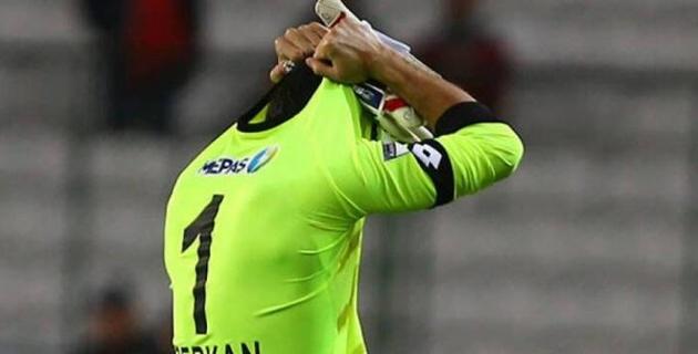 В Турции вратарь получил красную карточку на 11-й секунде матча