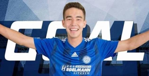 Казахстанский футболист оформил дубль в европейском чемпионате