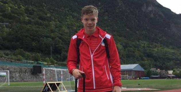 Футболист прислал видео своего гола по почте и попал в сборную