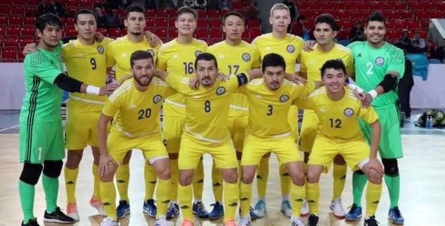 Сборная Казахстана по футзалу стартовала с победы в отборе на чемпионат мира