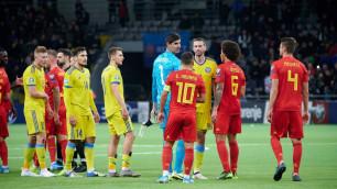 Сборная Казахстана упала ниже Анголы и Новой Зеландии в рейтинге ФИФА