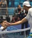 Надаль и Джокович провели мастер-класс для казахстанских детей