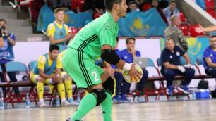 Сборная Казахстана по футзалу благодаря голу вратаря и хет-трику защитника одержала вторую крупную победу в отборе на ЧМ-2020