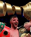 Шотландец победил небитого американца в финале Всемирной боксерской суперсерии и завоевал сразу три титула