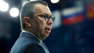 """Тренер """"Металлурга"""" прокомментировал победу над """"Барысом"""""""