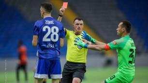 КФФ наказала шымкентский клуб за неявку на матчи и дисквалифицировала двух футболистов из КПЛ