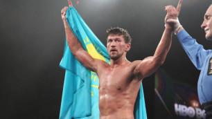 Казахстанец Акбербаев оказался легче Тищенко из России перед боем за пояс от WBO