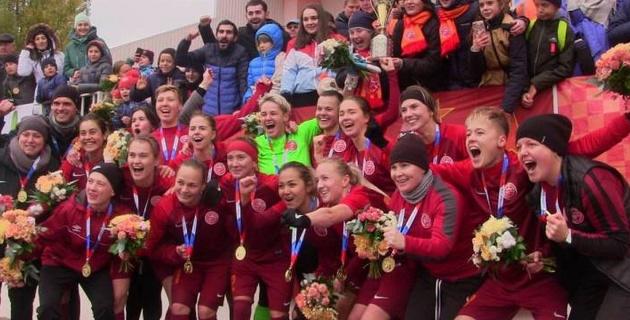Футболистка сборной Казахстана выиграла Кубок России
