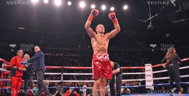 Завершен срок отстранения Головкина от боев после завоевания двух чемпионских титулов