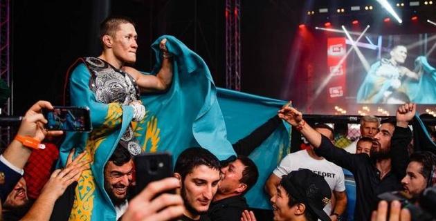 """""""Завершу карьеру, если меня не подпишет UFC"""". Жумагулов объявил об уходе из Fight Nights Global"""