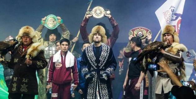 Небитые казахстанцы с титулами от WBA, WBO, WBC и IBF узнали сроки следующих боев