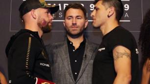 Букмекеры оценили шансы на нокаут в дебютном бою чемпиона WBO Сондерса в США