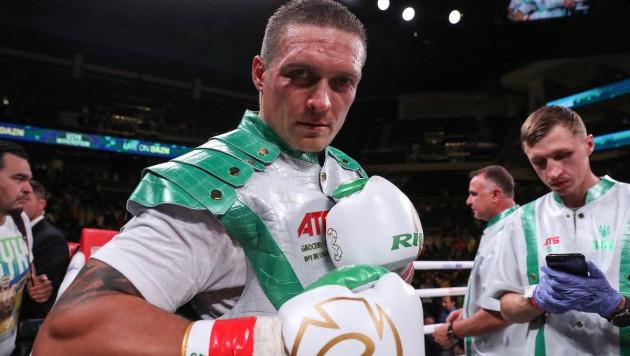Менеджер Усика рассказал о следующем сопернике украинского боксера