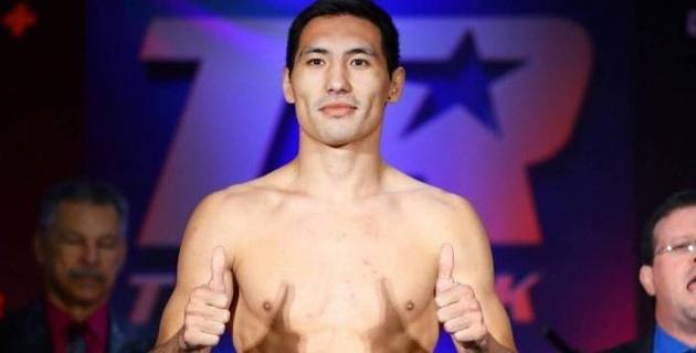 Объявлен гонорар Алимханулы за победу нокаутом в бою за титулы от WBC и WBO