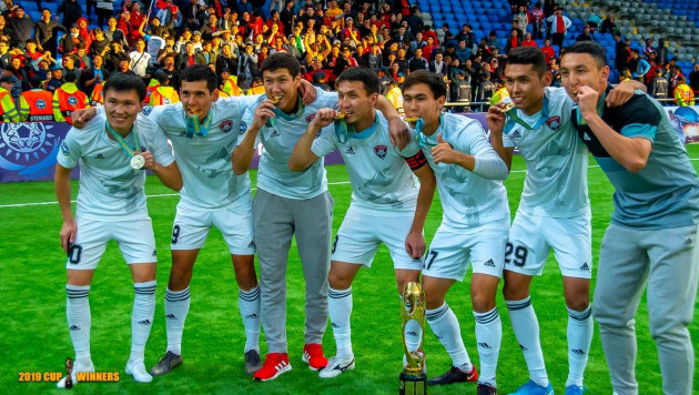 Обладатель Кубка Казахстана по футболу упустил победу в последнем матче сезона