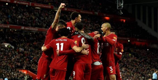 """""""Ливерпуль"""" обыграл """"Манчестер Сити"""" и остался непобежденным в АПЛ"""