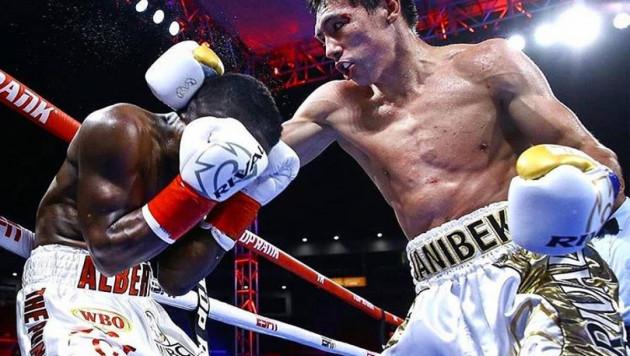Алимханулы поднялся в мировом рейтинге после победы нокаутом в бою за титулы от WBC и WBO