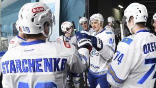"""Букмекеры оценили шансы """"Барыса"""" на победу в первом матче после паузы в КХЛ"""