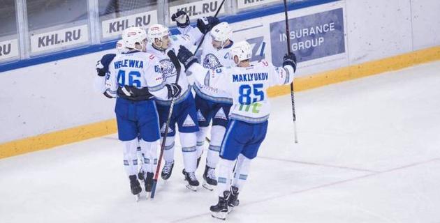 """""""Барыс"""" одержал волевую победу над """"Северсталью"""" и прервал серию поражений в КХЛ"""