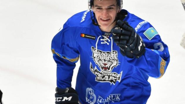 """19-летний казахстанец из """"Барыса"""" набрал шесть очков за матч и удостоился сравнения с суперзвездой НХЛ"""