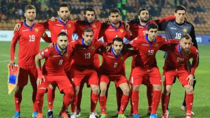 Сборная игроков КПЛ потерпела пятое поражение в отборе на Евро-2020