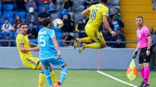 Букмекеры оценили шансы сборной Казахстана на победу в девятом туре отборочного турнира Евро-2020