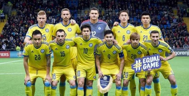 Казахстан объявил состав на матч с худшей сборной мира в отборе на Евро-2020