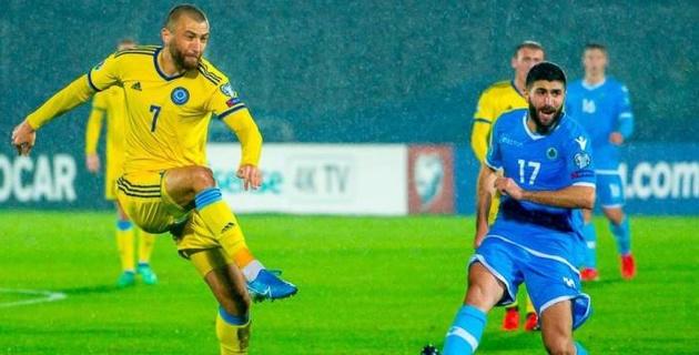 Было разочарование, что команда Сан-Марино забила именно нам - форвард сборной Казахстана