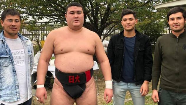 Казахстанец стал чемпионом Японии по сумо