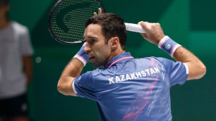 Кукушкин выиграл первый матч Казахстана в новом формате Кубка Дэвиса