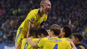 Букмекеры оценили шансы Казахстана завершить победой отборочный цикл Евро-2020