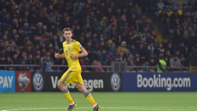 Бельгийский клуб сообщил о сроках возвращения футболиста сборной Казахстана после травмы