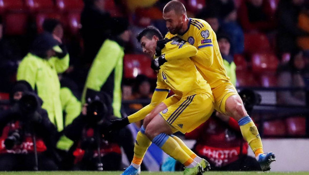 Зайнутдинов стал лучшим бомбардиром Казахстана в отборе на Евро-2020