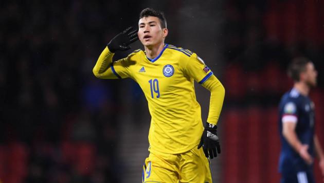 Назван лучший игрок сборной Казахстана в последнем матче отбора на Евро-2020