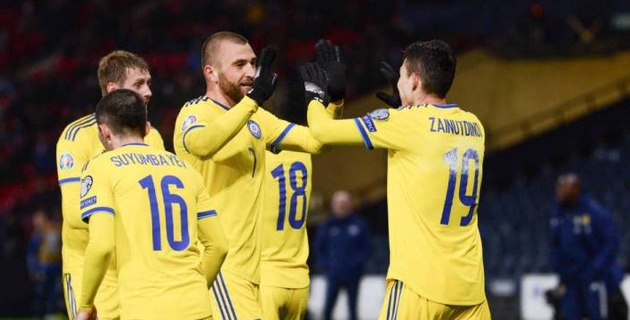Сборная Казахстана по футболу договорилась о матче с Узбекистаном