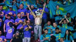 Организаторы назвали казахстанских болельщиков лучшими на Кубке Дэвиса в Мадриде