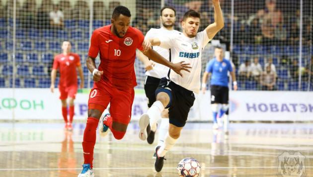 Вице-чемпион Казахстана проиграл российскому клубу на старте элитного раунда ЛЧ по футзалу