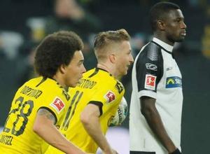 """""""Боруссия"""" сделала камбэк после 0:3 в первом тайме в матче с худшей командой Бундеслиги"""