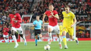 """У """"Манчестер Юнайтед"""" появилась мотивация в виде рекорда Лиги Европы на матч с """"Астаной"""""""