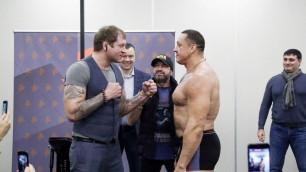 Александр Емельяненко нокаутировал силача Михаила Кокляева в бою по правилам бокса