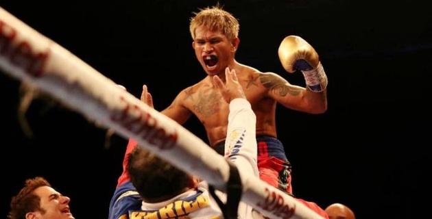 Чемпион мира по версии WBO был неожиданно нокаутирован в третьем раунде