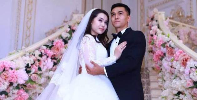 """Футболист """"Кайрата"""" сыграл свадьбу в Алматы"""