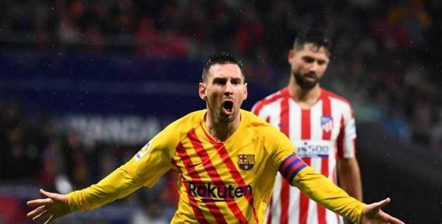 """Месси помог """"Барселоне"""" одержать гостевую победу над """"Атлетико"""""""