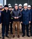Кульгинов и Ахметов вместе с президентом World Athletics посетили строящийся семитысячный манеж