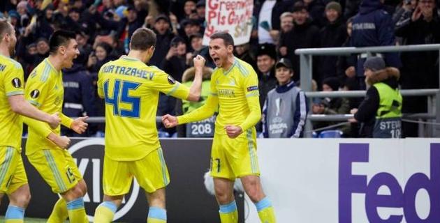 """Казахстан поднялся в рейтинге УЕФА после победы """"Астаны"""" над """"МЮ"""""""