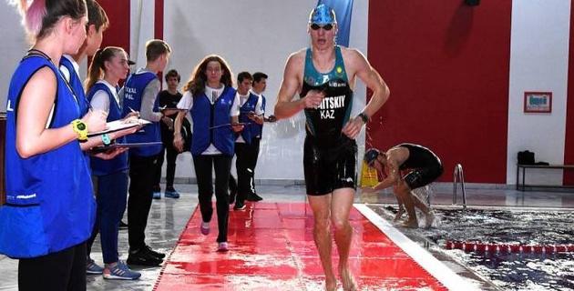 Алматинские триатлонисты завершили сезон-2019 чемпионатом в закрытых помещениях