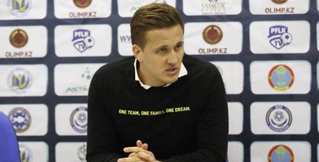 """Главный тренер """"Кайрата"""" стал самым молодым специалистом в европейских чемпионатах"""