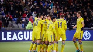 Сборная Казахстана по футболу узнала свою корзину для жеребьевки новой Лиги наций