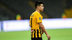 Новый клуб футболиста сборной Казахстана проиграл матч чемпионата с шестью голами